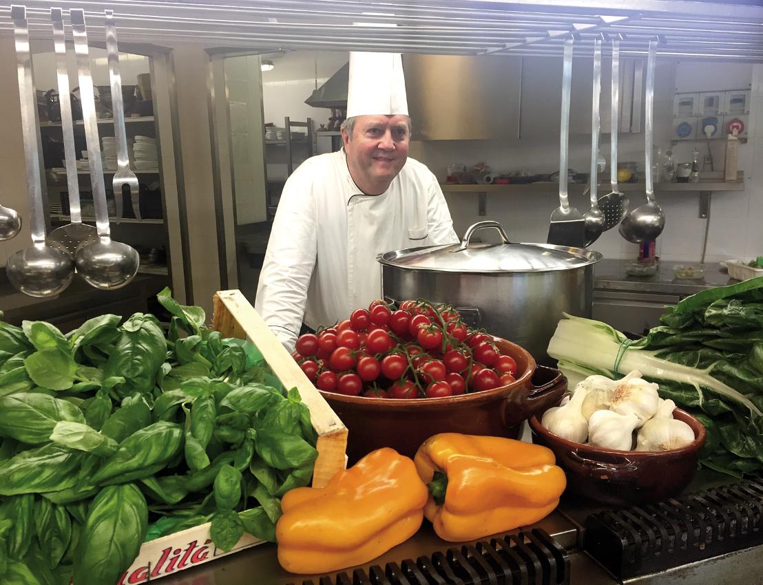 Claudio Lunghi - Chef del ristorante La Sughereta