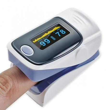 Saturimetri per misurare l'ossigenazione del sangue
