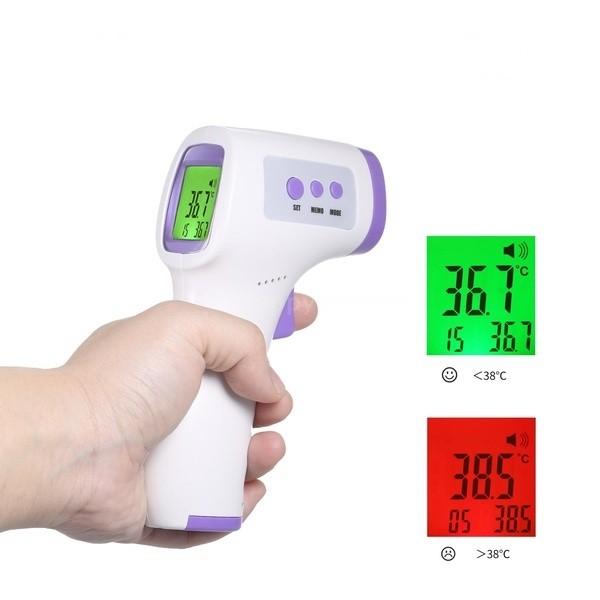 Termoscanner per il controllo della temperatura corporea in totale sicurezza