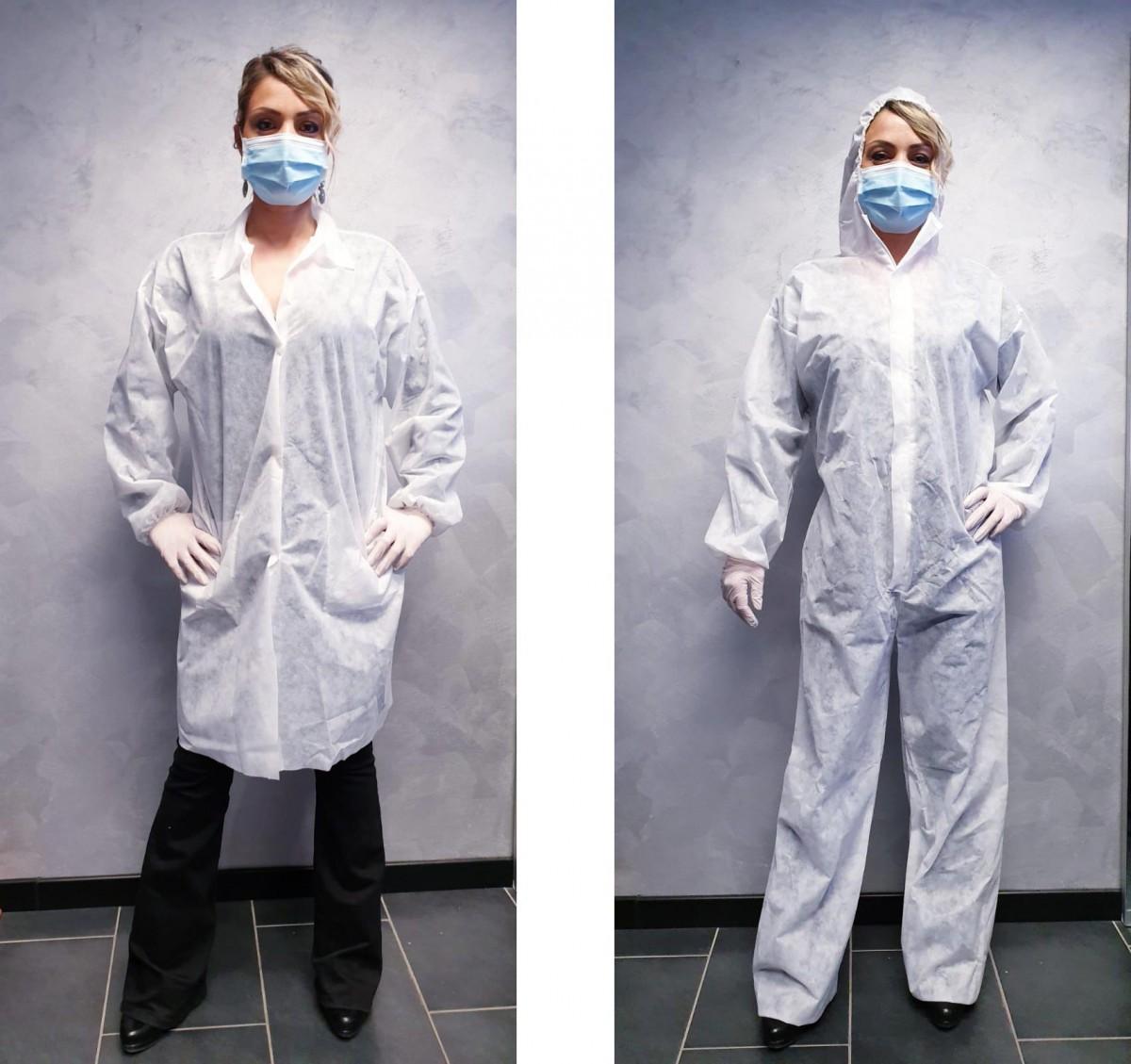 CAMICI E TUTE Impermeabili e sterilizzabili