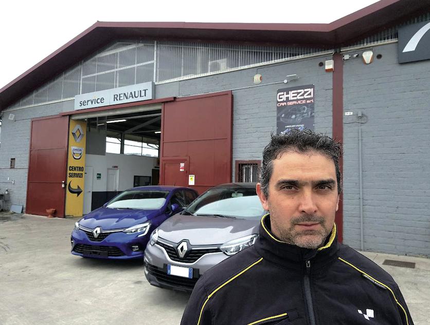Roberto Ghezzi Titolare della Ghezzi Car Service